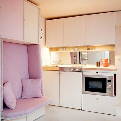 Ideas y fotos de dise o de interiores para inspirarte for Cocinas de madera pequenas