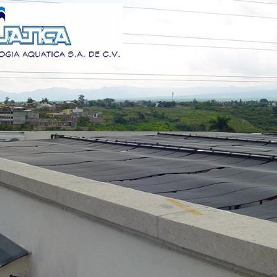 Equipamiento de Alberca con Calefacción Solar Medallion