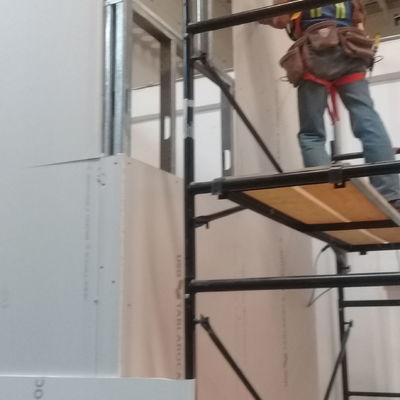 AMPLIACION DE OFICINA CCTV EN BODEGA SAMSUNG SAN MARTIN OBISPO