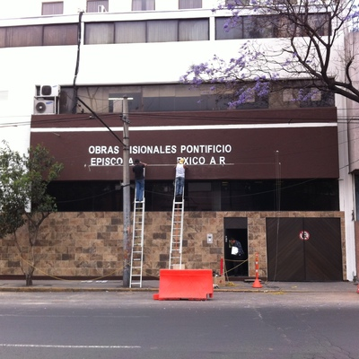 Remodelación de fachada Edificio Episcopado