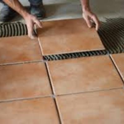 Cotizaci n colocar loseta o azulejo en distrito federal for Losetas de vinilo para banos