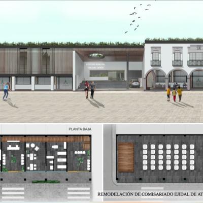 Proyecto para Remodelación de Comisariado Ejidal