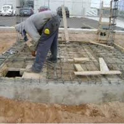 Construcción de cisterna.