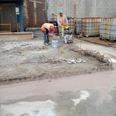 Demolición de losa de cimentacion