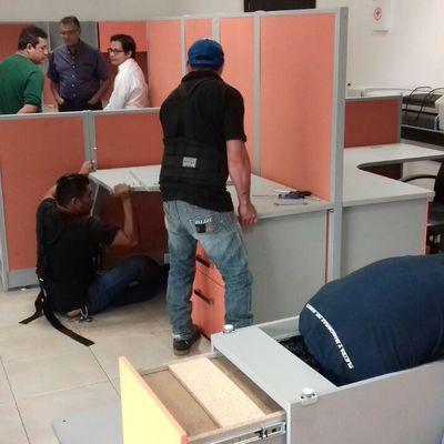 DESARMADO DE OFICINA (SERVICIO: FLETE)