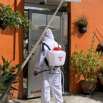 Desinfección y sanitizacion