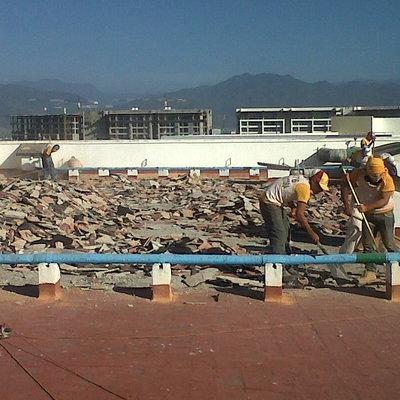 """Impermeabilizacion de 3,516 m2 de azotea en Puerto Vallarta en el Hotel Mayan Palace """" """" TIKUL"""""""