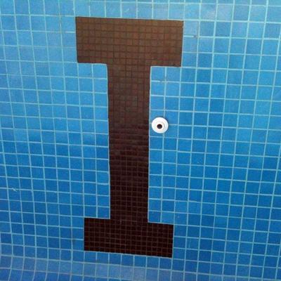 Detalle De Colocación De Azulejo 5 X 5 cm
