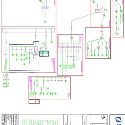 Elaboración de diagrama unifilar nave industrial