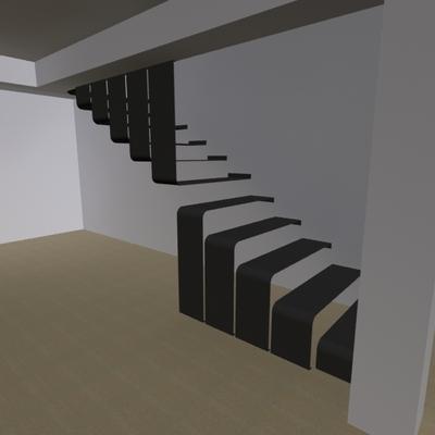 Diseño y construccion de escalera