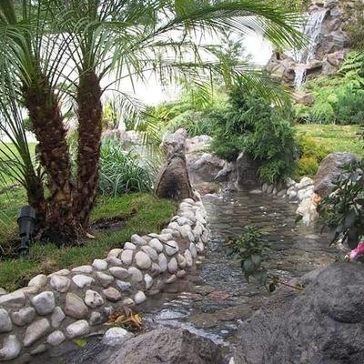 Diseño GREEN Paradise solución verdes:río