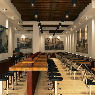Cafeteria Madrid
