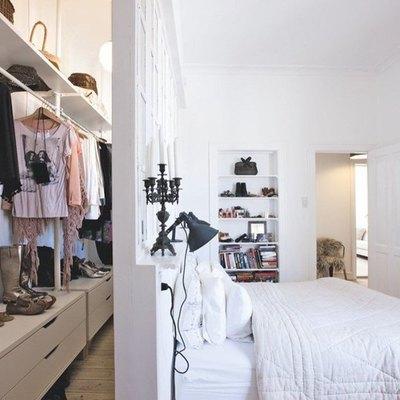 Cómo distribuir el cuarto si quieres un vestidor