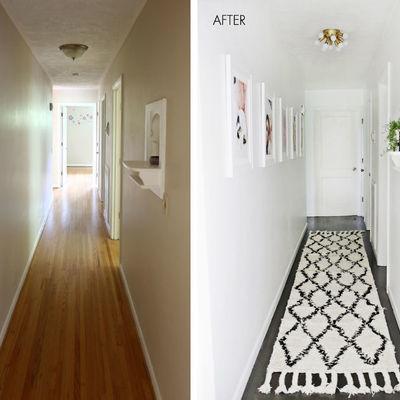 El antes y después de 5 recibidores
