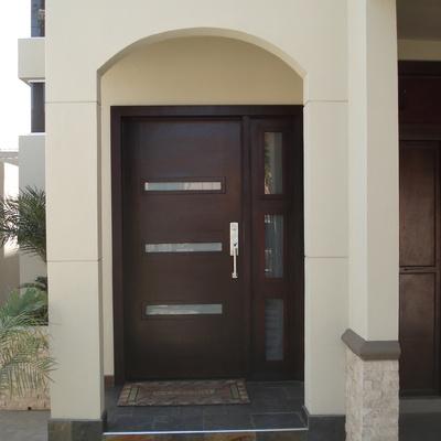 Ideas de construcci n casa en baja california para - Puertas de herreria para entrada principal ...