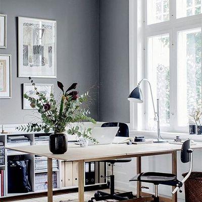 Espacio de trabajo gris