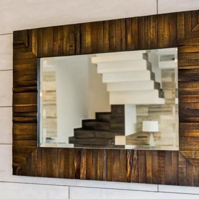 Espejo y perspectiva de Escaleras