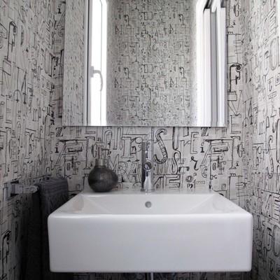 Ideas y fotos de papel tapiz para inspirarte habitissimo - Espejos en banos ...