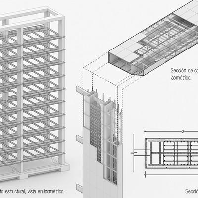 Trabajos de representación arquitectónica - planos, esquemas y modelado 3D.