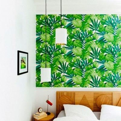 Estampado tropical Greenery