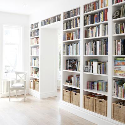 8 ideas de almacenaje geniales para tu sala