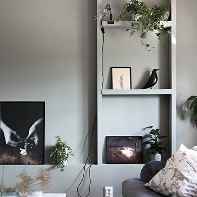 7 materiales low cost para la sala