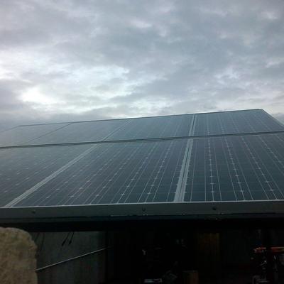 Sistema Fotovoltaico de 3.2 kWp Interconectado a CFE en la comunidad de El Temazcal, Mich.