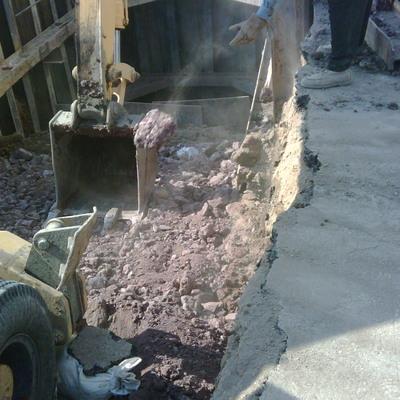 """Instalación de tubería de acero de 30"""" en Ecatepec"""