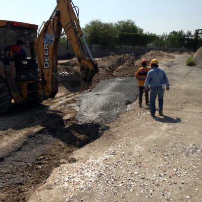 Excavacion para Drenaje Sanitario