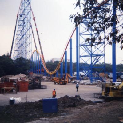 Superman de Six Flags