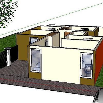 Construcción de Casa de 65m²
