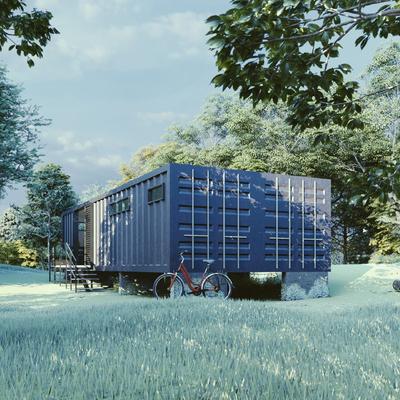 Casa en Contenedor Reciclado