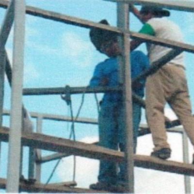 Construccion de soporte para torre Nextel