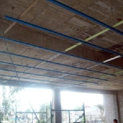Fabricacion del plafon, el bastidor