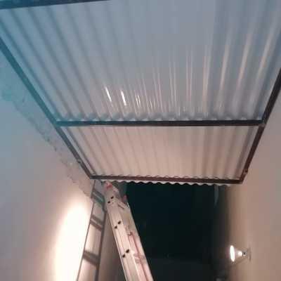 Fabricación e instalación tejado 4×2