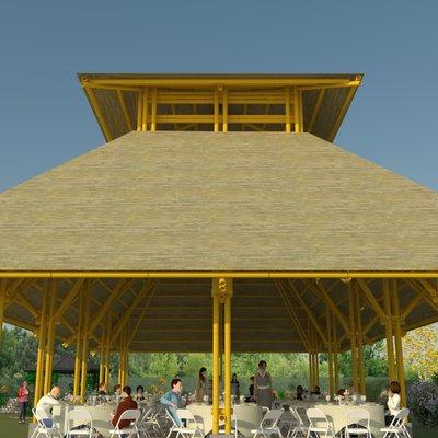 Salón Social de Bambú