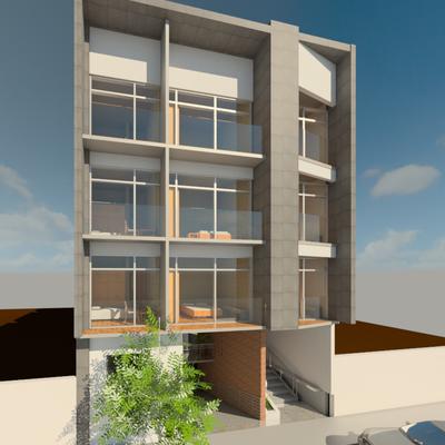 Proyecto Arquitectonico Departamentos