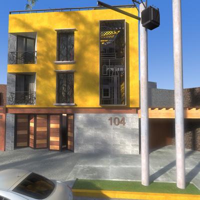 Avenida México 104, Casa habitación