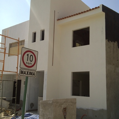 Construcción de casa habitación en Balcones de San Mateo