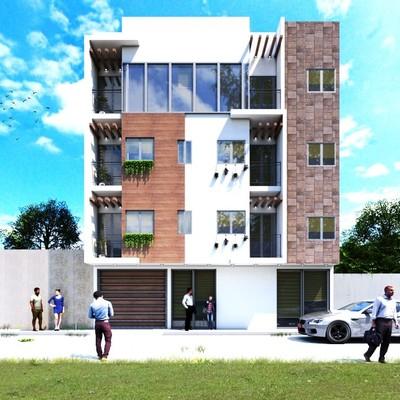 Edificio para Departamentos con Locales