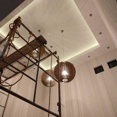 Colocación de tablarocas en muros y plafones