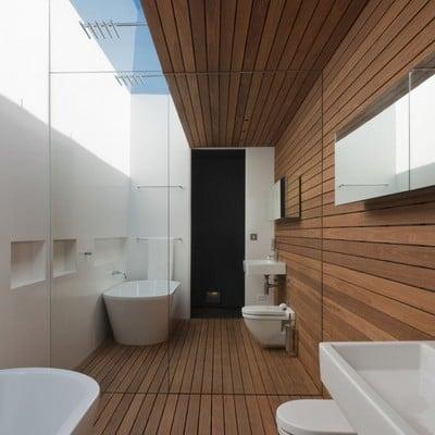 Forrado de baño en Deck