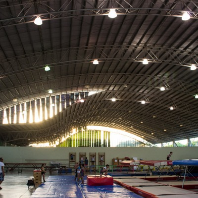 Estructura Métalica de 5,000 m2 sin apoyos intermedios