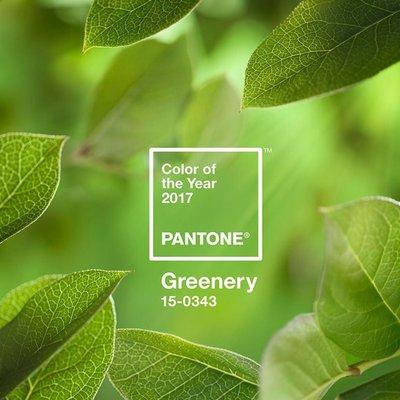 Decora tu casa con Greenery, el color Pantone 2017