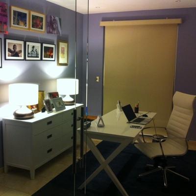 Creación de oficina en departamento