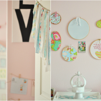 Mima tu hogar: decora estancias con bastidores