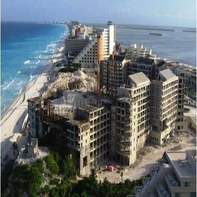 Demolición y construcción de Hotel Westin Laguna Mar en Cancun, Qr.