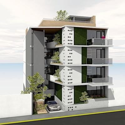Idea y Construcción de Edificio Playa del Carmen, Qroo. 2020
