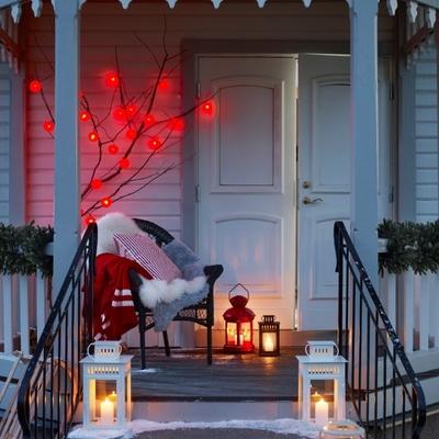 Iluminación navideña exterior