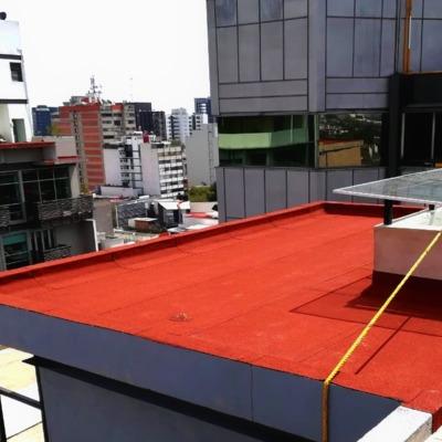 Impermeabilizante prefabricado color terracota